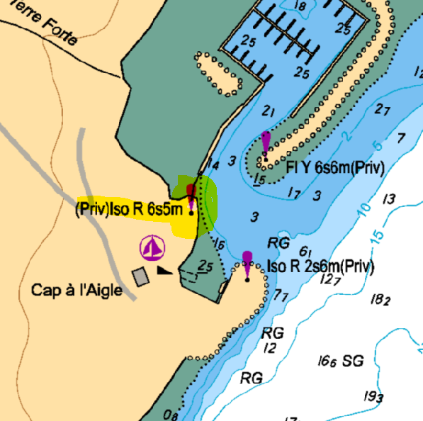 plan de la marina
